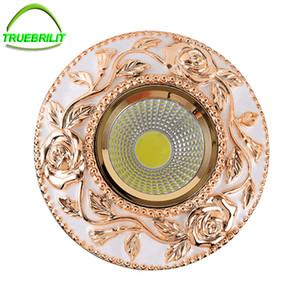 Downlights LED empotrados Lámparas de techo regulables 3W 5W 7W Down Iights 110V 220V Driver incluido reemplazo para halógeno