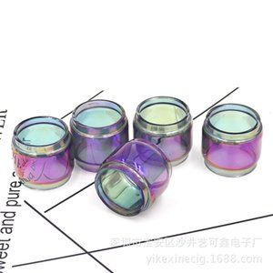 TFV8 Baby V2 Resa Baby Horizon Falcon FreeMaX Fireluke Mesh Ijust 3 Rainbow 7-color Fat Extend Bulb Glass Tube