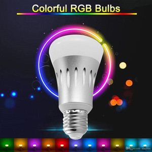 المصباح LED الذكي Alexa Bulb Wi-Fi Dimmable RGBW Color Changing Party Lights لمبة يعمل مع Echo Alexa