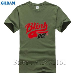 Blink 182 T Shirt New Fashion 2017 Men's T-shirts Short Sleeve Tshirt Cotton Man Clothing Free Shipping