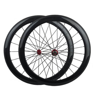 Carbon Wheelset Clincher Front and Rear 700C Road Bike Wheels Powerway R13 Hub Best Quality