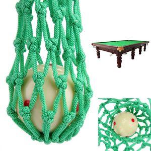 6 adet / takım Yeşil Bilardo Havuz Snooker Masa Naylon Mesh Net Çanta Cepler Kulübü Kiti