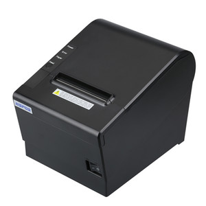 OPOS Driver Support 3Inch Receipt Lan Thermal Printer With Beeper Remind For Restaurant Cafe Bar Tea Shop HS-J80USLW