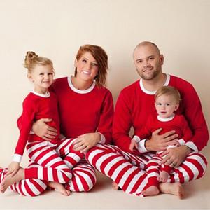 Vêtements assortis Famille ADULTE Femmes Enfants Famille vêtements de nuit assortis Pyjama Noël Set Tenues Vêtements famille