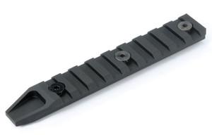 Táctica Panel de carril 20mm 9 ranuras para KeyMod AIRSOFT URX4 ferroviaria Sección protector de la mano