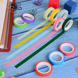 10 قطعة / صندوق diy سكرابوكينغ الديكور اشي rainbow اللون اخفاء اشي ورقة الشريط اللاصق ملصقا 2016