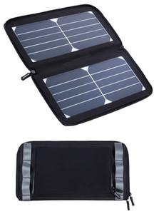 방수 가방 접는 태양 전지 패널 핸드백 5.5V 13W 태양 전지 패널 충전기