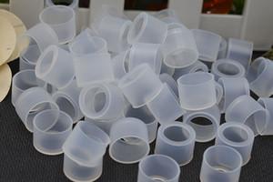 Pointes transparentes jetables de goutte à goutte de silicium testent Vape 11mm bec de bec 510 pour le réservoir d'atomiseur de cigarettes d'e