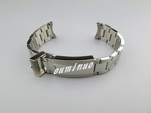 20mm (Buckle 16mm) NEW High Quality Polished + Brushed Finish Pure Solid Stainless steel Watchband BANDS Watch Strap For Rolex watch