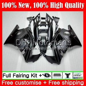 HONDA CBR 600F2 için gövde Mat siyah FS CBR600 F2 91 92 93 94 46MT5 CBR600FS CBR 600 F2 91 CBR600F2 1991 1992 1993 1994 Fairing Karoser