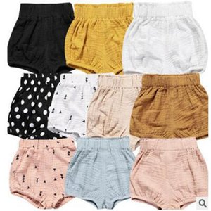 Ins 아기 반바지 유아 PP 바지 Girls 여름 Bloomers 소년 캐주얼 Triangle 바지 Infant Bloomer Briefs 기저귀 커버 Underpants Clothes YL18