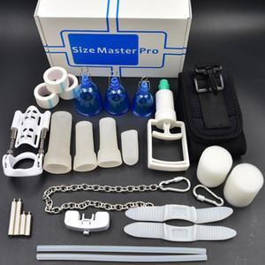 슈퍼 프로 익스텐더 Vacum PENIS ENLARGEMENT System 스트레처 크기 마스터 프로 jelq 음경 장치 컵 페니스 펌프 성인 제품