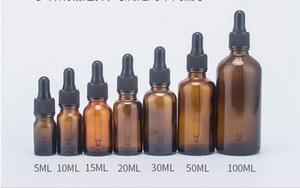10 adet / grup 5 ml 10 ml 15 ml 20 ml 30 ml 50 ml 100 ml Amber Cam Sıvı Reaktif Pipet Şişe Göz Damlalık Damla Aromaterapi Satış