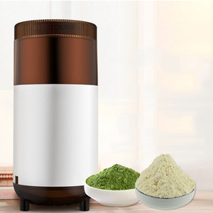 Molinillo de café eléctrico del hogar Mini cocina Molinillo de pimienta de la sal Potente semillas de nueces de la especia Máquina de pulir del grano de café del acero inoxidable TB
