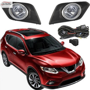 Luces antiniebla para Nissan Pogue / X-Trail 2014 ~ 2016 Luces antiniebla delanteras Bumper Lamps Assembly Kit (un par)