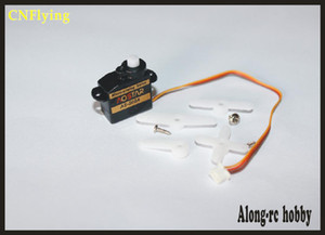 FREE SHIPPING 4 PCS micro servo AOSTAR AS-S02A 2g SERVO for 3D F3P helicopter  hobby plane  RC model airplane