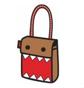 FZMBAI Top cartoons school bag 2d borsa a tracolla cross-body personalità 3d sacchetto tridimensionale