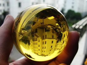 HOT 90MM+stand Natural Green Obsidian Sphere Large Crystal Ball Healing Stone HOT