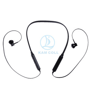 MST-I8 Bluetooth Headphones Wireless Earphone Magnetic Headset Neck Band Super Bass Stereo with Mic for Iphone X S8