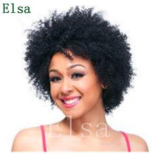 Perucas de cabelo humano para mulheres negras afro kinky cacheado dianteira perucas com cabelo bebê 8 polegada cor preta nenhuma peruca de renda