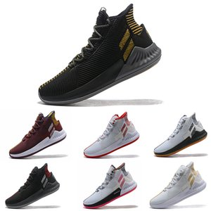 2019 DERRICK DOSE ROSE 9 pour les chaussures de basket-ball pour hommes All Star Basketball Sneakers Taille 7-11.5