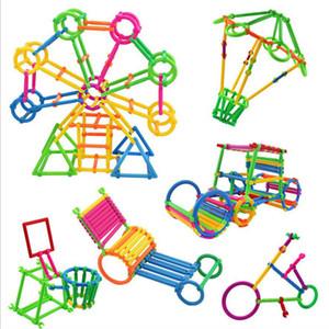 다채로운 플라스틱 퍼즐 스마트 스틱 블록 게임 어린이의 교육 장난감 스마트 스틱 빌딩 블록 스틱 맞춤법 조립 유치원
