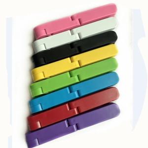 Accessoires pour téléphone portable universel pour téléphone Porte pliante V Shape Desk Support de support de support pour iPhone 7 plus Samsung S8 bord S7