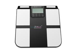 Análise gordo do analisador da composição do corpo do analisador da saúde do corpo de NLS com a máquina do analisador de Digitas da escala do peso corporal da cópia de Bluetooth