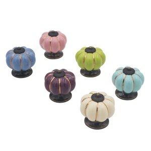 Sıcak satış seramik kabak dolabı kolları fildişi renk Çin seramik mobilya kolu ve kolları seçim için altı yeni renkler
