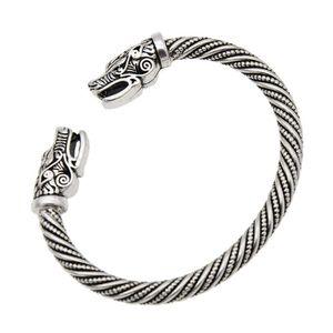 Wolf Kopf Männer Viking Armbänder Schmuck Best Listing 2018 Produkte Armreif Zubehör Männer Frauen Armband Manschette Armband