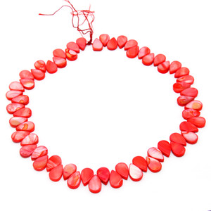 The latest fashion charm shell natural freshwater dyeing shell beaded DIY jewelry accessories