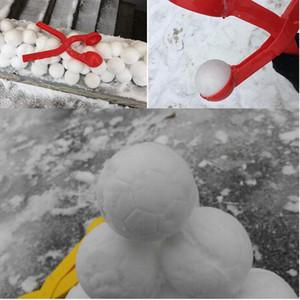 Hiver Neige Ball Maker Sable Moule Outil Enfants Jouet Léger Compact Snowball Lutte Sport En Plein Air Outil Jouet Sports