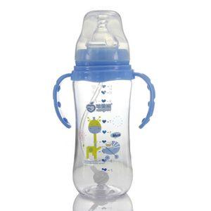 320ml Baby Milk Feeding Bottle Newborn Wide Mouth Tritan Material An-flatulence Unbreak New type