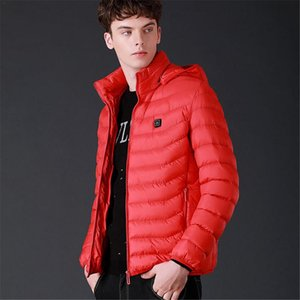 Upgrade Pure Electric Heating Jacket Lightweight USB Module Intelligent Warm Sports Heating Vest With Three Temperature Control