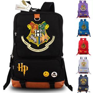 HARRY POTTER Zaino Hogwarts School Student Borse Bookbag Laptop Tracolla New