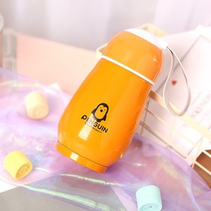 Explosion Models Stainless Steel Penguin Insulation Portable Cartoon Cute Big Belly Children's Insulation Cup