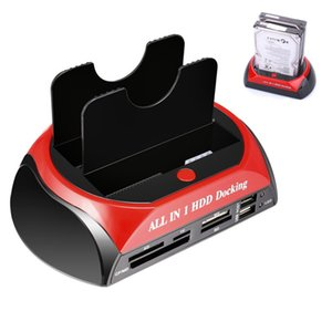 "All In One 1 2.5"" IDE 3.5"" SATA HDD Disque dur Clone Support Dock Station d'accueil e-SATA"
