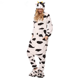 Cartoon animal one-piece pajamas women autumn and winter cosplay coral flannel unisex pajamas rainbow stars Tianma animal onesie sleepwear