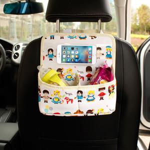 자동차 관리 자동차 좌석 주최자 쿨러 가방 멀티 포켓 정렬 가방 다시 좌석 의자 스타일링 좌석 커버 주최자