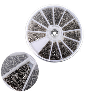 New 12 kinds of 600Pcs small stainless steel screws nuts watch & household tools electronic classification kit M1 M1.2 M1.4 M1.6