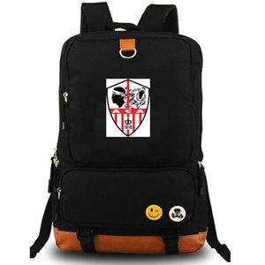 Аса рюкзак Аяччо медведь рюкзака футбольного клуба Schoolbag Футбольной команда рюкзак холст мешок школы Открытого день пакет