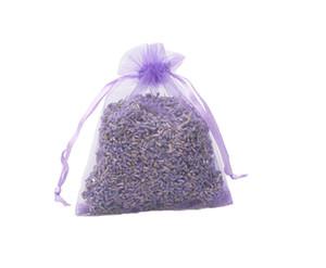 Organik Lavanta Tomurcukları Poşetler Kuru Çiçekler Ev Ve Ofis Için Deodorant, Çekmeceler, Dolaplar, Araba, Seyahat Aromaterapi Rahatlatıcı