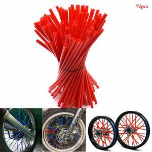 For motorcycle motocross Wheel spoke skins Universal for kawasaki z900 tmax 530 500 ktm duke 390 gsxr bmw f800gs gs 1200 harley dyna