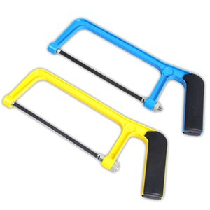 free shipping mini aluminium alloy frame saw multifunction 6 inch hacksaw for woodworking iron sheet frozen meat pvc bamboo furniture sawing