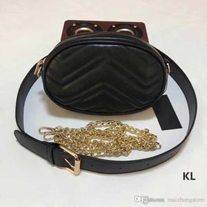 fannypack femmes sac de ceinture de haute qualité PU cuir diamant sacs de taille en treillis sac classique de sac à main dames