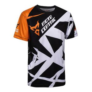MotoCentric yaz Nefes terleme kurutma Açık T-Shirt Pamuk kısa kollu Açık Aşınma bisiklet t-shirt yarış t-shirt
