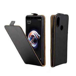 Estuche de cuero para Xiaomi Redmi Note 5 Pro Fundas para ranura de tarjeta de cubierta vertical para Redmi Note 5 Pro Bolsas para teléfonos celulares