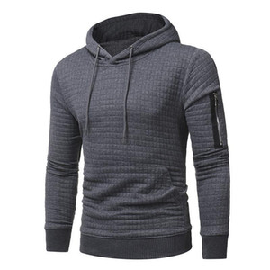 Autumn winter male warm casual sweaters loose Pullover Knitted hooded Jacket coat men patchwork Hooded sweater stitching M-3XL