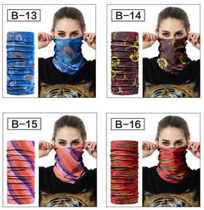 20 Stiller Sihirli Eşarp Fonksiyonlu Eşarplar Açık Bisiklet Bandana Kadınlar Erkekler Sıcak Saç bandı Eşarp Sihirli Şapkalar MASK
