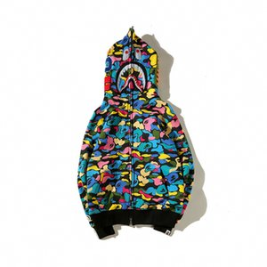 Tasarımcı Hoodie Sonbahar Erkek Hoodies Marka Sıcak Streetwear Lüks Hoodie Hırka Kapşonlu Pamuk Blend Uzun Kollu Şeker Kamuflaj